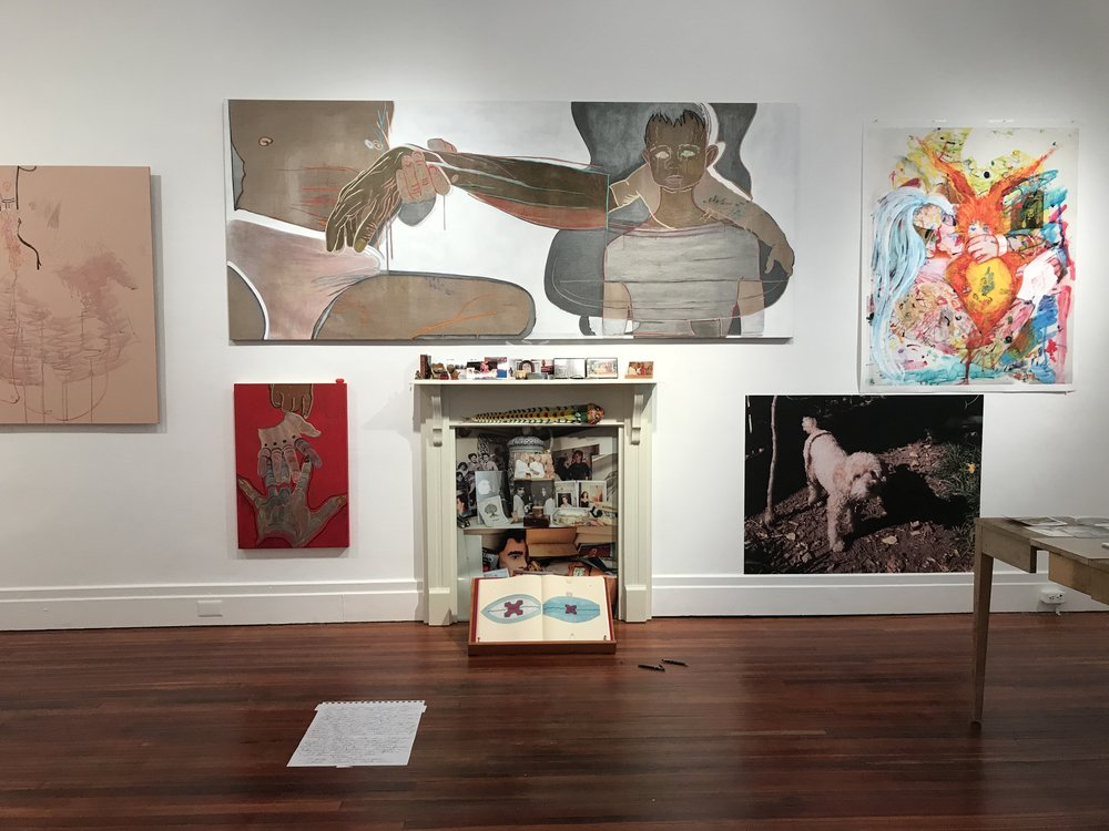 House Hold: Joan Gaustad + Michael Lease, 2018  Installation view  Image courtesy of Michael Lease