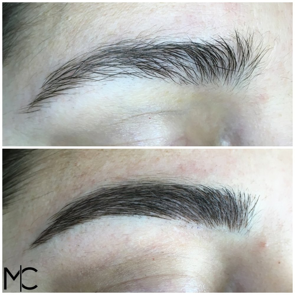 Before & After at Microblading Charleston