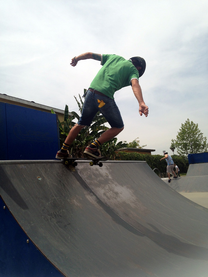 STOKED half pipe