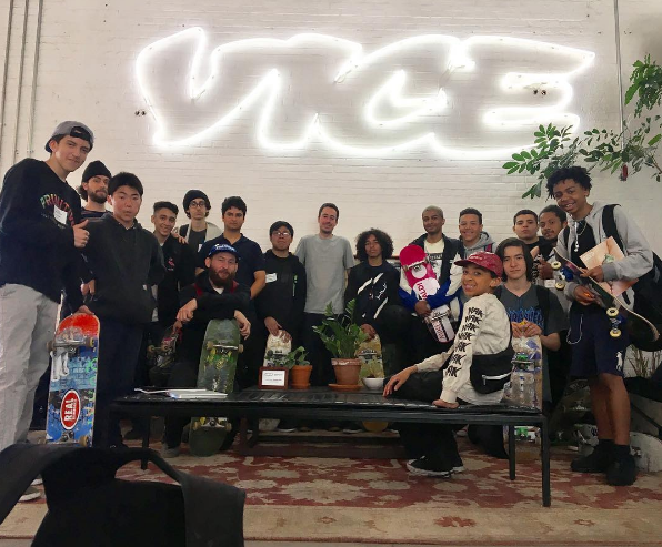 Visiting VICE headquarters