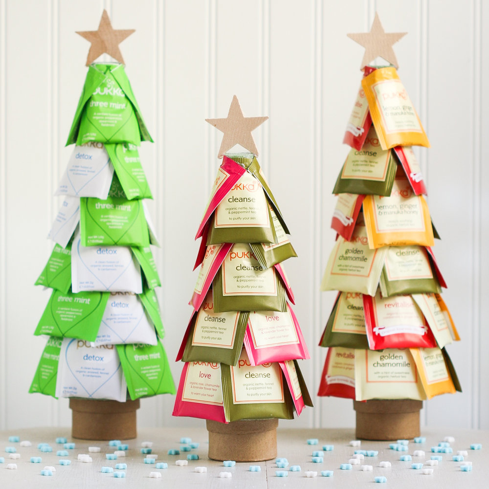Christmas Tea Tree   We all know a tea lover.  via  thirstyfortea