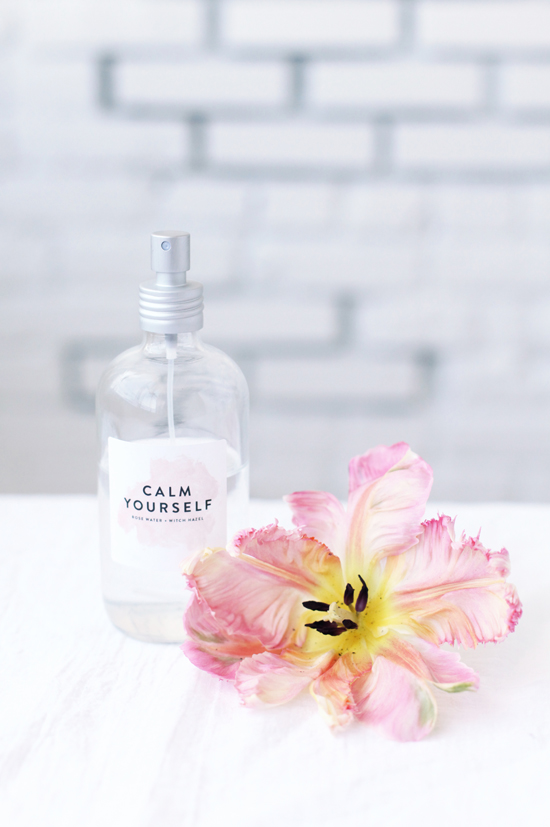 Refreshing Face Mists   Cause who doesn't need calmness in a bottle?  via  d  esignlovefest