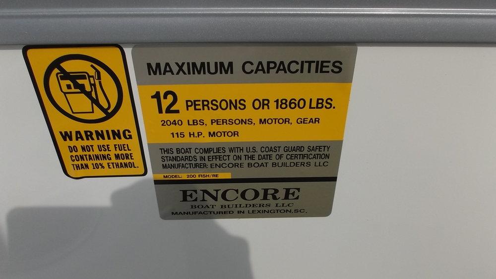 12 Person capacity