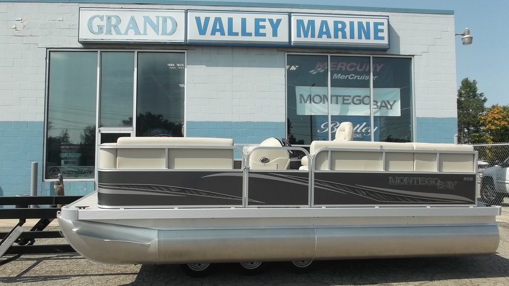 2017 Montego 8516C Cruise powered by a Mercury 40ELPT CT