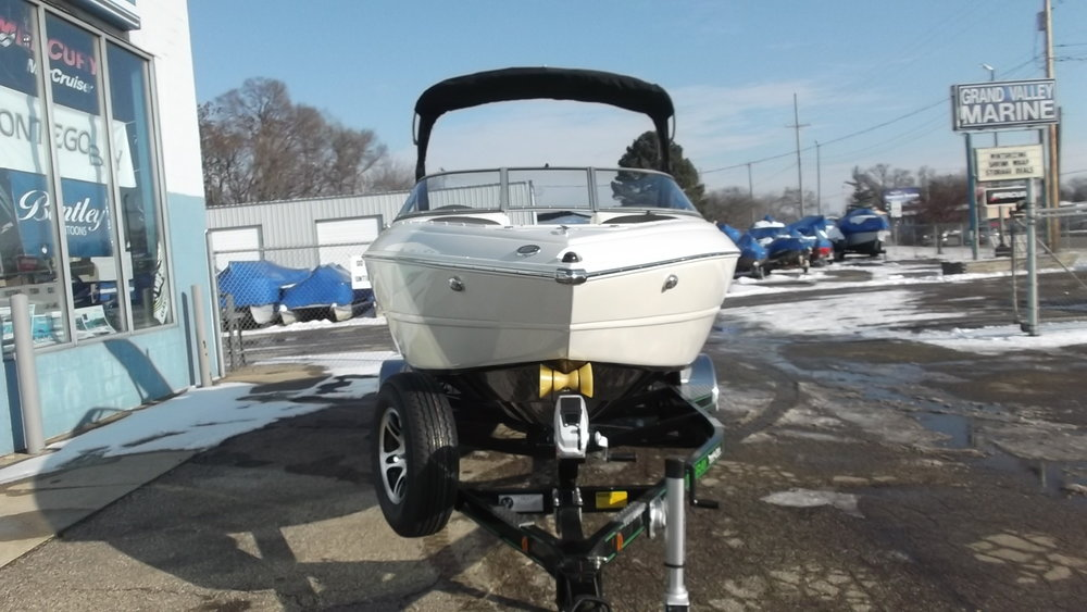 Equipped with a wake board tower, Spare tire, Fulton F2 winch/jack