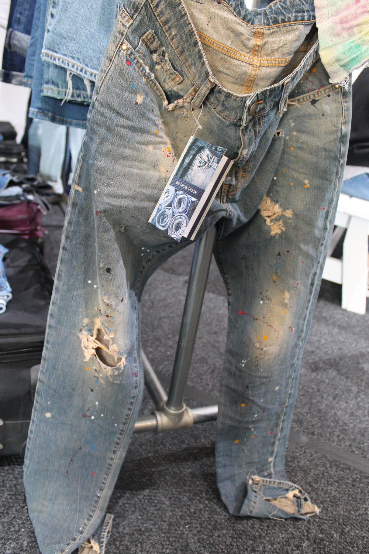 R.E.A.L garment pants