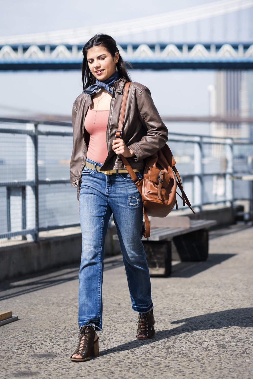 jeans / shoes  (similar)/ bodysuit /jacket (not available)