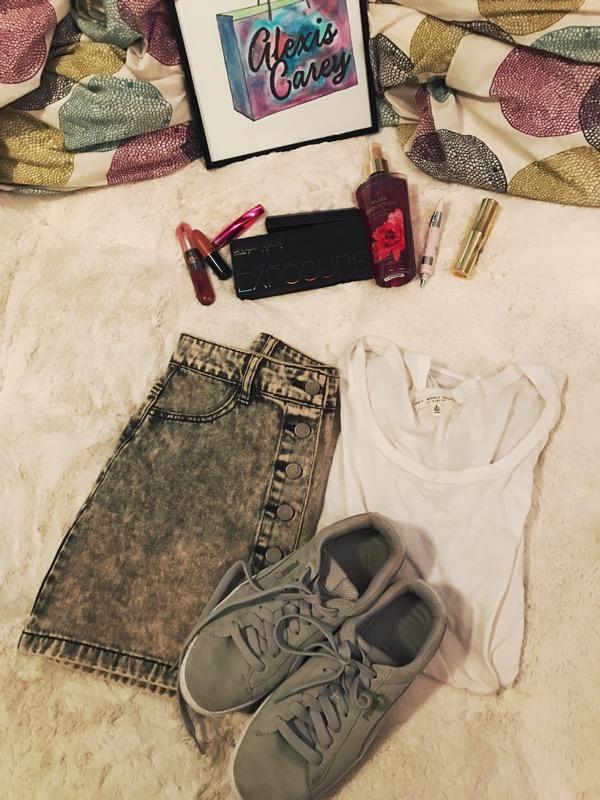 shirt / skirt / shoes