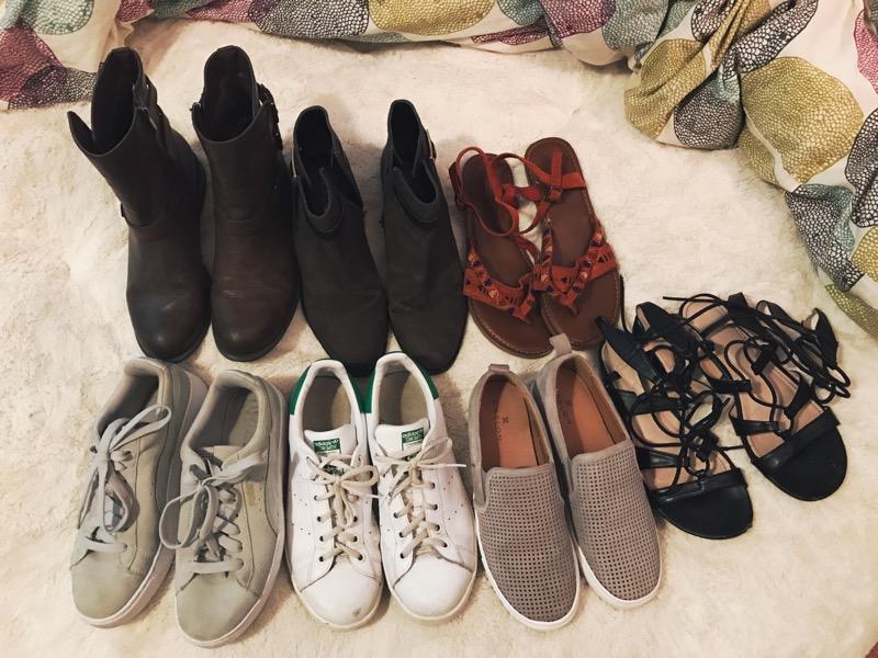 boots / booties / sandals / sneakers / sneakers / sneakers / sandals