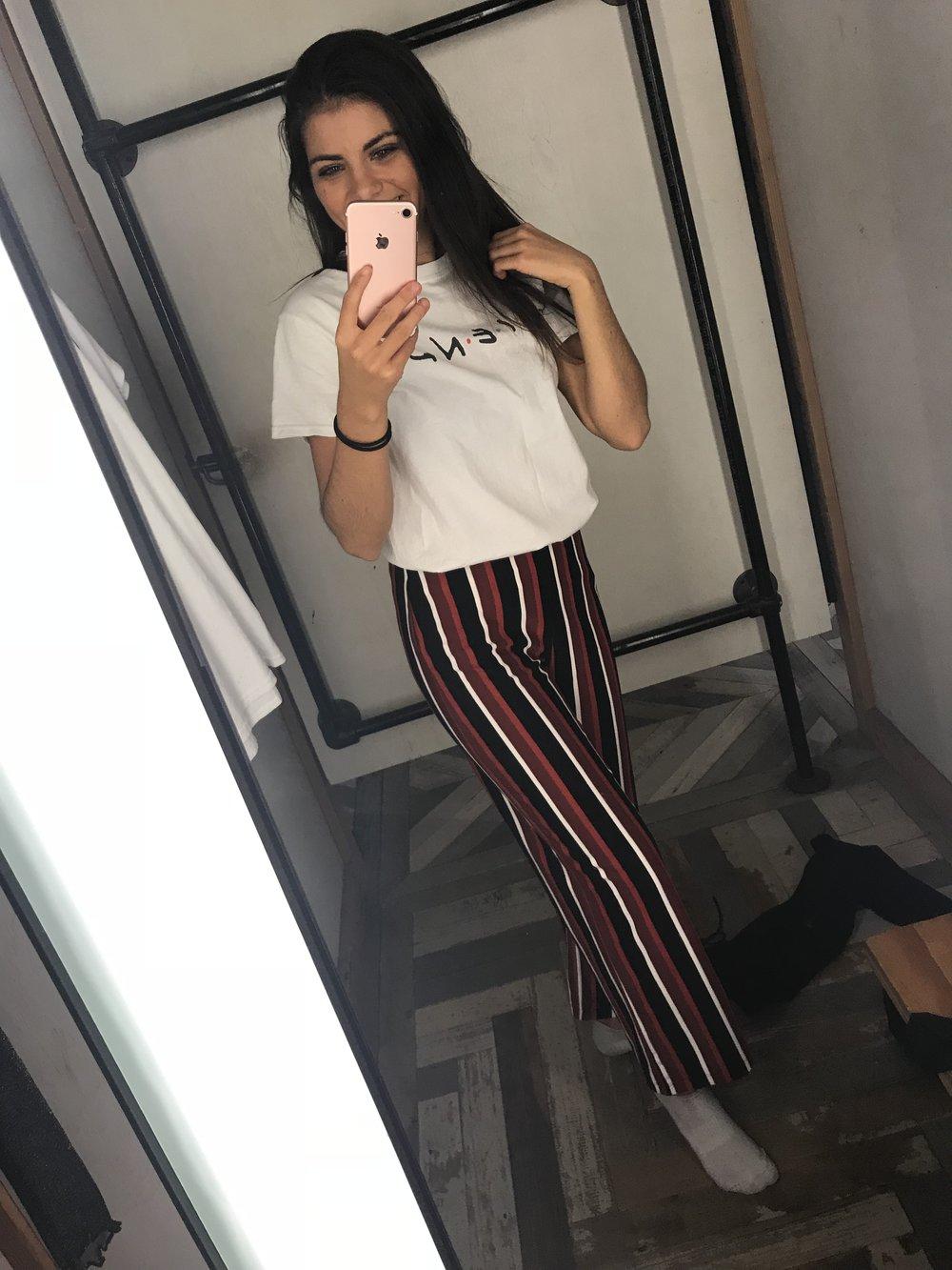 tee shirt / pants