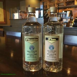 2 - 1 - IMG_1606 Tiramisu and Flan syrup bottles