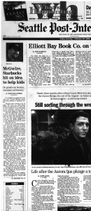 19 Feb 1999 - McGwire Starbucks hit on Idea to Help Kids - Front page