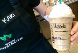 2 - 1 - IMAG6154 Frappuccino of the Week via Kari at the Elliott DT Starbucks 4-4-215