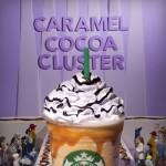Caramel Cluster frappuccino from Starbucks