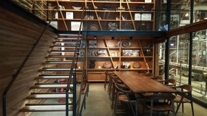 2 - 1 - 20150723_072640 the library room at Starbucks Roastery Thursday the 23rtd