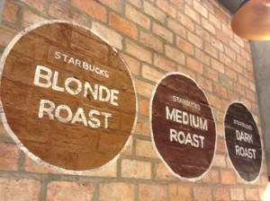 De Tham Starbucks - 3 roast profiles