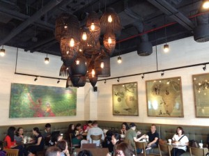 Starbucks at Kumho Asiana Plaza in Ho Chi Minh City - StarbucksEverywhere - Wall art