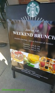 2 - 1 - 20150912_111203 outdoor sign for weekend brunch test