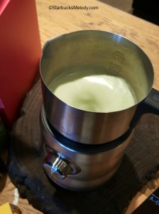 2 - 1 - 20151122_103610 making the chai matcha latte in the breville