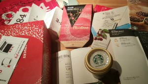 1 - 1 - 20151212_182947[1] gifts from Starbucks Japan holiday 2015
