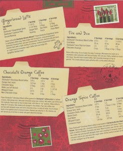 1 - 1 - Scan 18 scans of Starbucks recipes