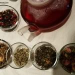 2 - 1 - 20151129_105410 getting set up for Teavana tea tasting