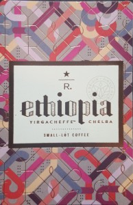 New Doc 74_1 Front of Ethiopia Yirgacheffe Chelba card