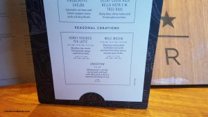 2 - 1 - 20160130_095000[1] the menu for new seasonal drinks at the Starbucks Reserve Roastery