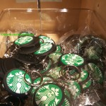 2 - 1 - 20160215_094557 keychains at the Starbucks Coffee Gear store