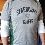 1 - 1 - 20160318_161840 john modeling the new tshirt starbucks coffee gear store