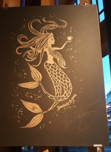 1 - 1 - 20160329_064237 45 year starbucks siren autographed by howard