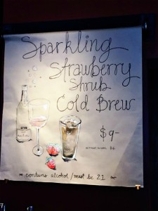 1 - 1 - 29May2016 sign for Strawberry Shrub