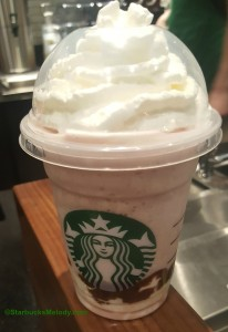 2 - 1 - 20160507_081920 Milk Chocolate Covered Strawberry Frappuccino -