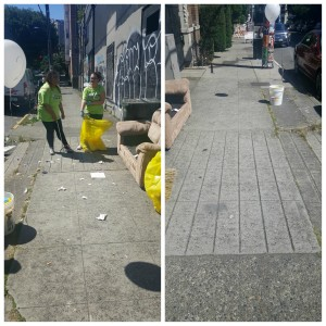 1 - 1- PhotoGrid_1465168456155 before and after along Bellevue