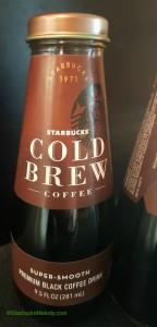 2 - 1 - Starbucks Bottled Cold Brew 29June2016