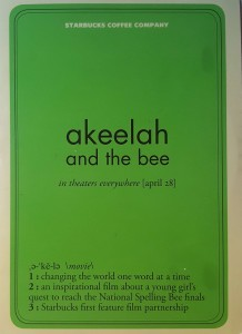 New Doc 159 akeelah and the bee promotional material