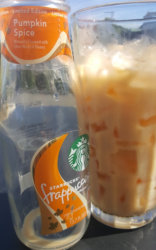 1 - 1 - 20160812_154519 Bottled PSL Starbucks bottled pumpkin spice frappuccino