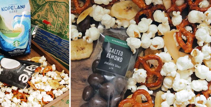 Kopelani pairing with tropical popcorn mix