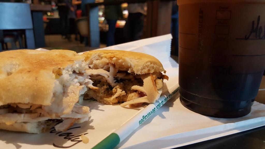 1 - 1 - 20161126_120539 Holiday Turkey Stuffing Sandwich
