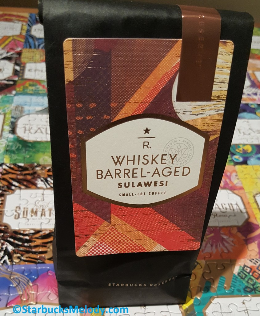 20170310_181500 4 oz bag of Whiskey Barrel Aged Sulawesi