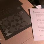 18Dec2012 - Steel Starbucks Card arrives