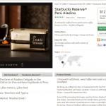 Screen cap from StarbucksStore - Peru Aladino