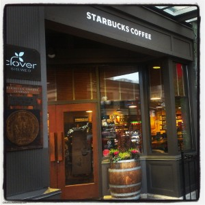 1st and Pke Starbucks exterior