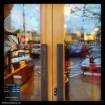 Share Joy on the doors of Starbucks store 302 12 Nov 2013
