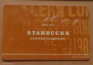 DSC00134 Prototype Gift Cards 2001 Starbucks