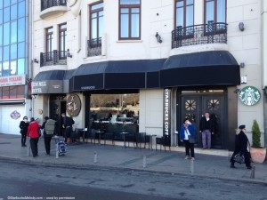 2 - 1 - photo 2 front entrance istanbul starbucks
