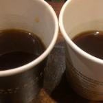 IMAG9010 Yirgacheffe clover brewed versus press 27Jan2014