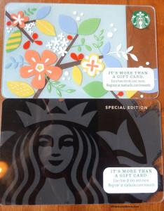 DSC00632 Spring Starbucks Cards