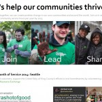 Screen cap community service page 09 April 2014
