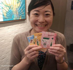 IMAG0884 Promo cards Starbucks Japan - Yoshima - 15 July 2014